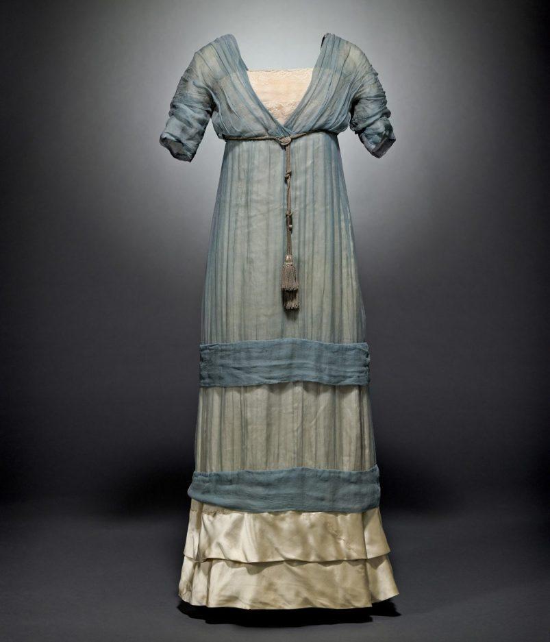 Paul Poiret, vestido, 1911