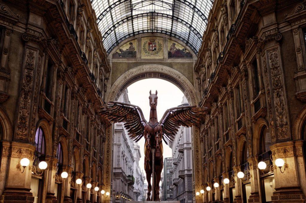 Galerías Vittorio Emanuele, Salón del Mueble de MIlán