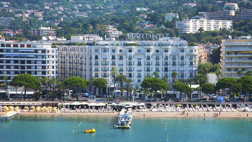 Hotel Martinez, Festival Cine Cannes