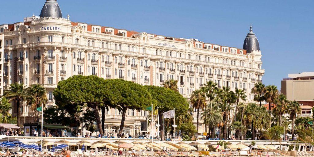 Hotel Intercontinental Carlton, Festival Cine Cannes